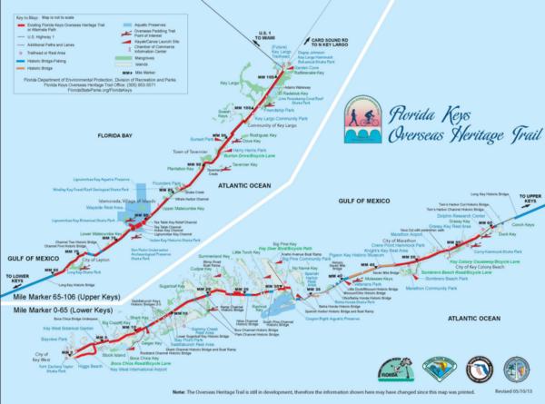 Detailed Map Of Florida Keys.Teacher Home Swap